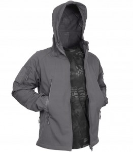 TEXAR FALCON SOFTSHELL Kurtka GREY (02-FAL-CO-GREY)