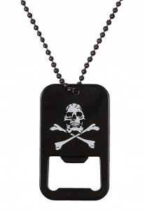 MIL-TEC DOG TAG Otwieracz do Butelek SKULL