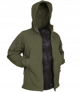 TEXAR FALCON SOFTSHELL Kurtka OLIVE (02-FAL-CO)