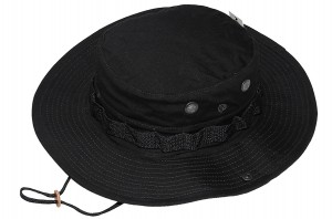 TEXAR JUNGLE Kapelusz Wojskowy BLACK (05-HAT-HE-BLACK)