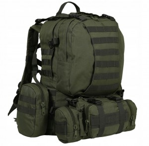 MIL-TEC DEFENSE PACK ASSEMBLY Plecak Wyprawowy OLIVE (14045001)