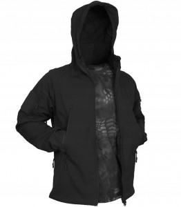TEXAR FALCON SOFTSHELL Kurtka BLACK